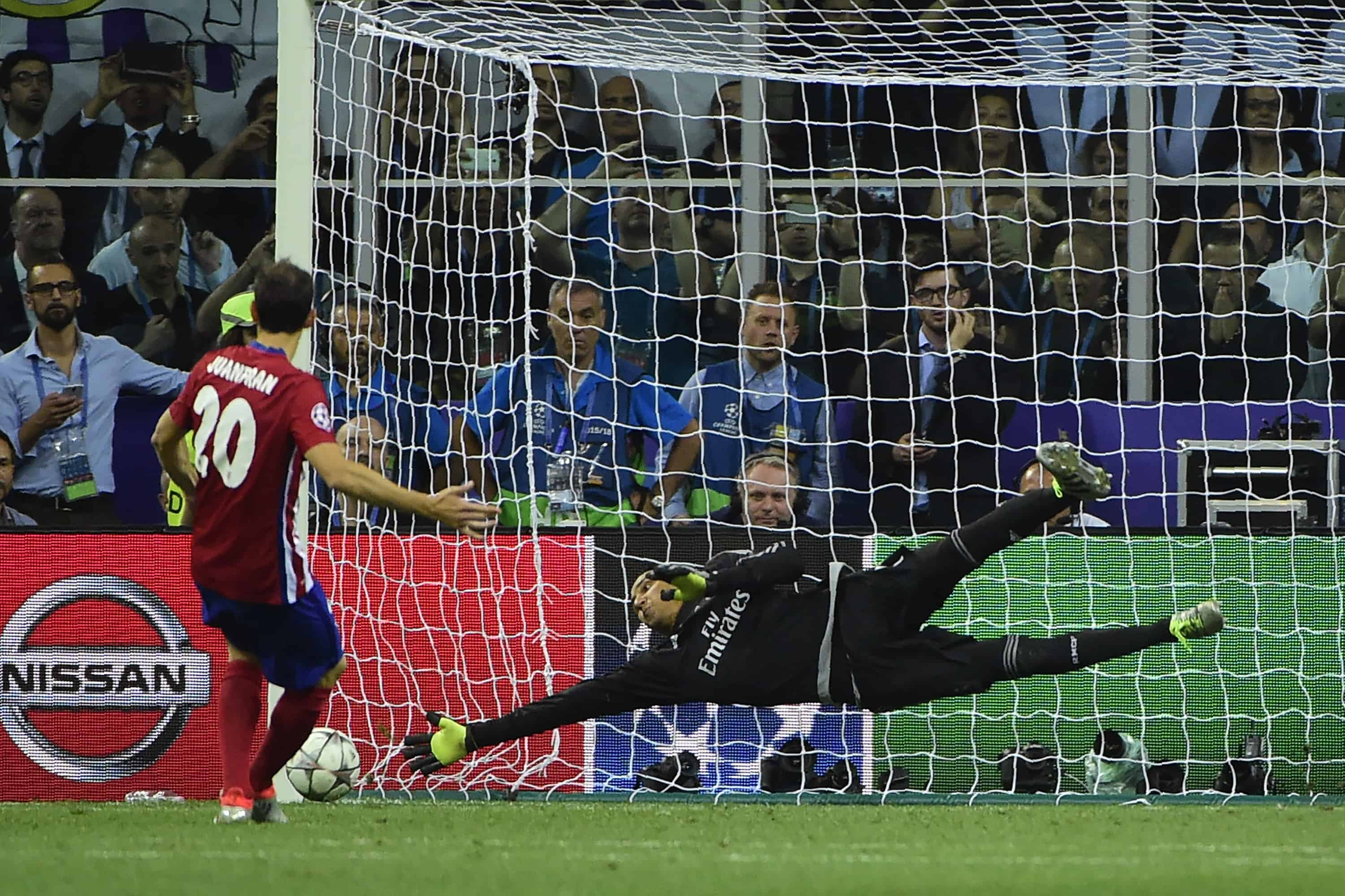 Keylor Navas Champions League win
