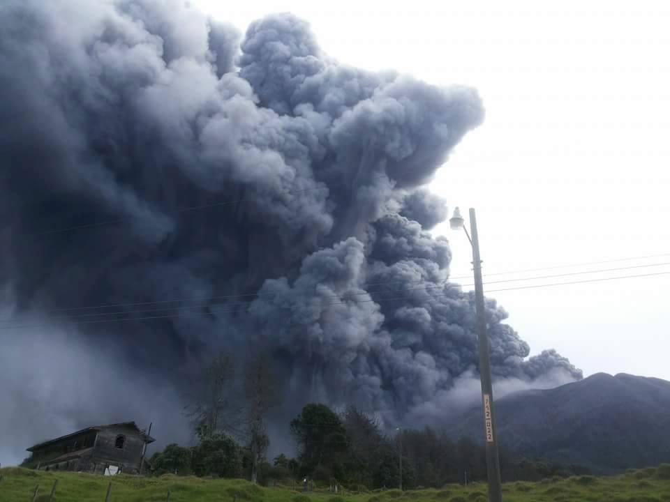 Turrialba Volcano Costa Rica