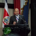 President Solís takes credit for healthy economy; Business leaders push back