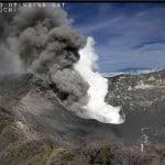 Turrialba Volcano spews ash; Rincón de la Vieja heaves vapor