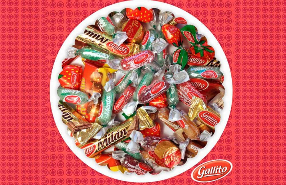 Gallito candies and chocolates