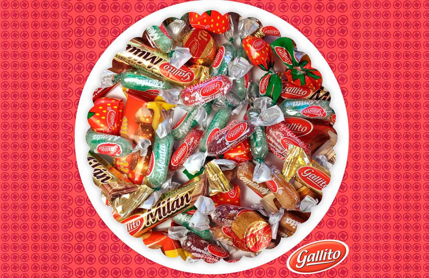 Gallito candies and chocolates
