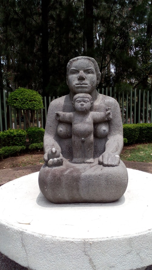 """Mother Earth"" by Crisanto Badilla Argüello, stone, 1979."