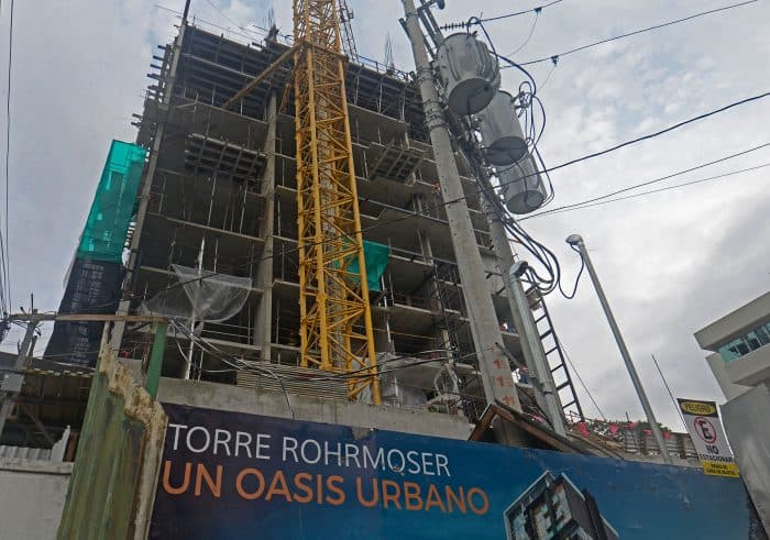 High rise tower