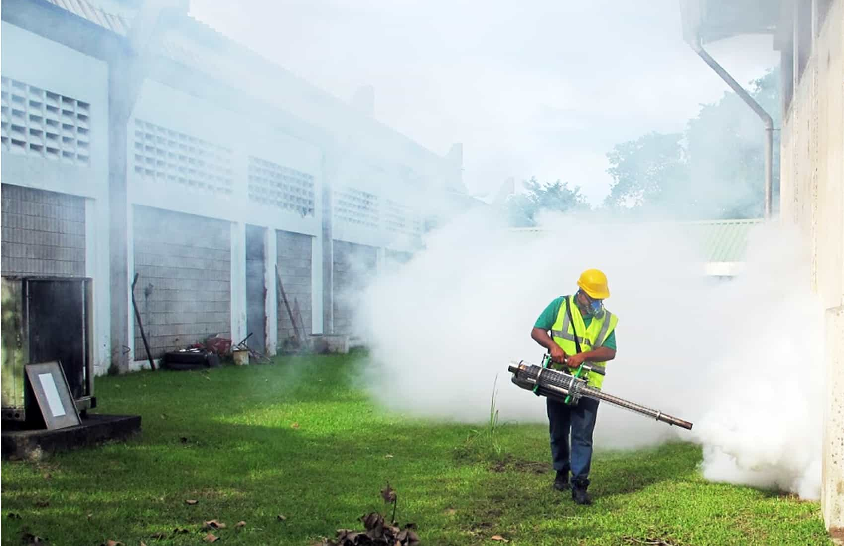 Fumigation against mosquitoes