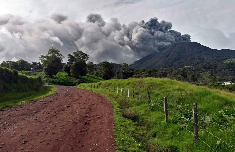 Turrialba Volcano. May 19, 2016