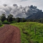 Turrialba Volcano spews ash 1 km high