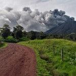 Turrialba Volcano spews ash 1 km high