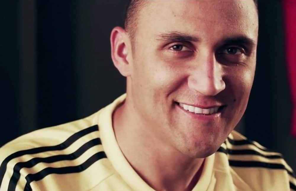 Keylor Navas at ICT promotional spot. May 20, 2016.