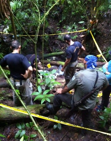 Police investigate site where human remains were found in Corcovado national park