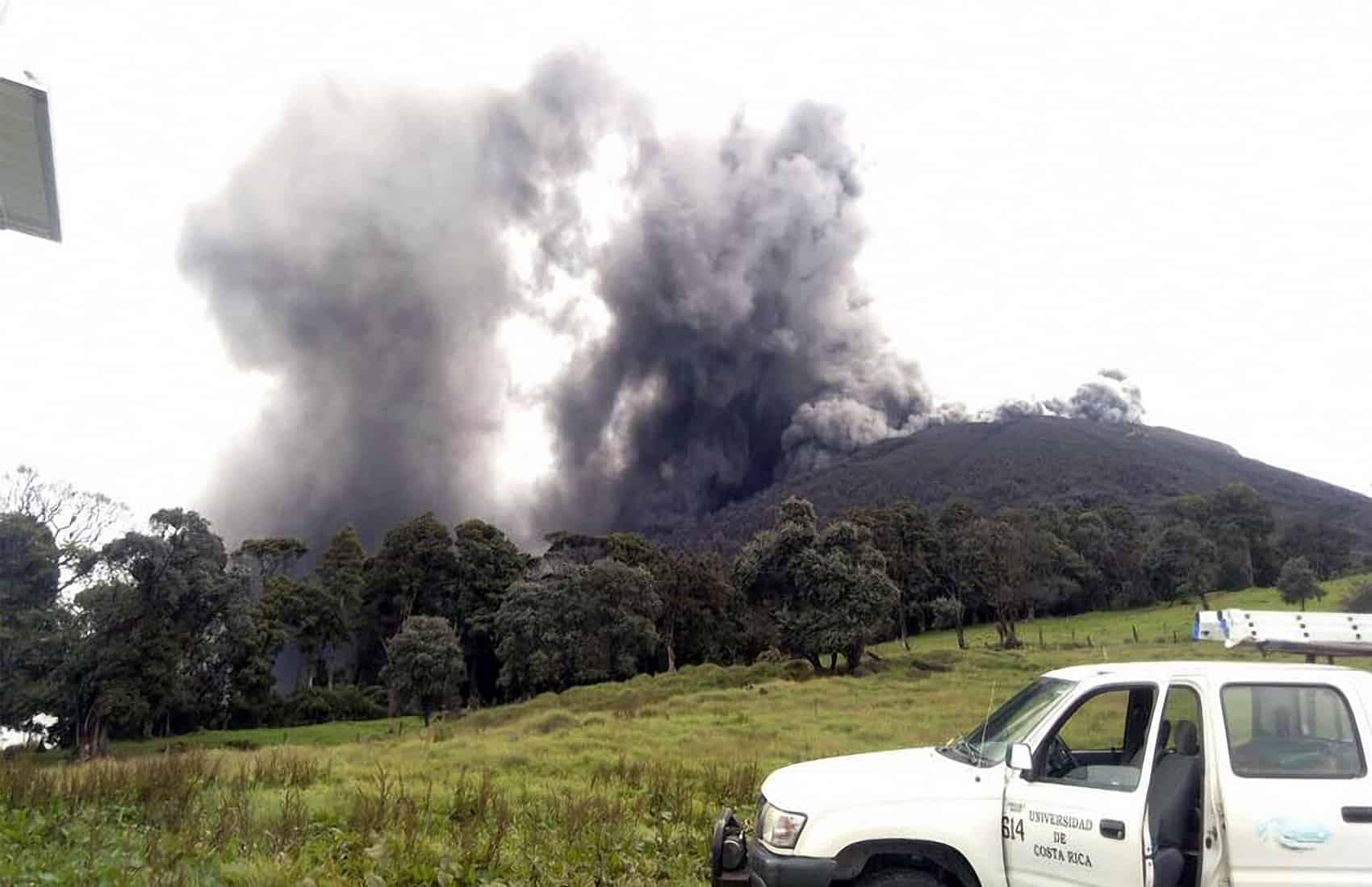 Turrialba Volcano. May 23, 2016.