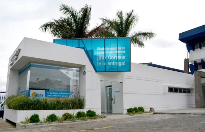 Box Correos office at Correos de Costa Rica