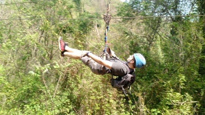 Nosara ziplining