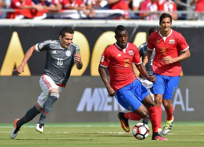 Costa Rica ties Paraguay in Copa América opener – The Tico ... Joel Campbell Dive