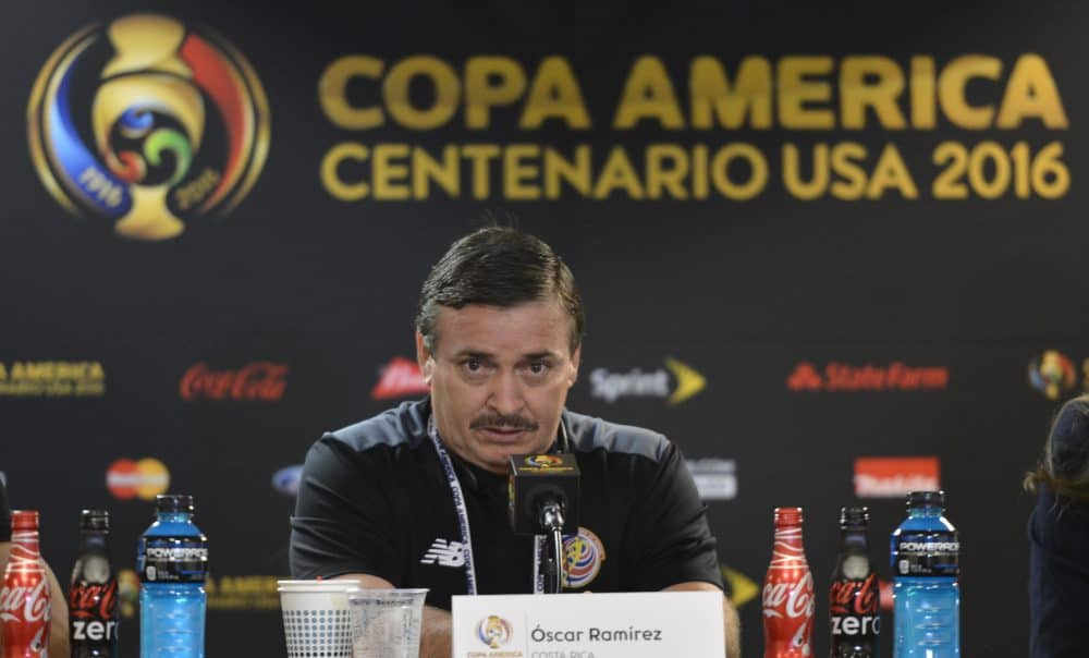 Óscar Ramírez Costa Rica
