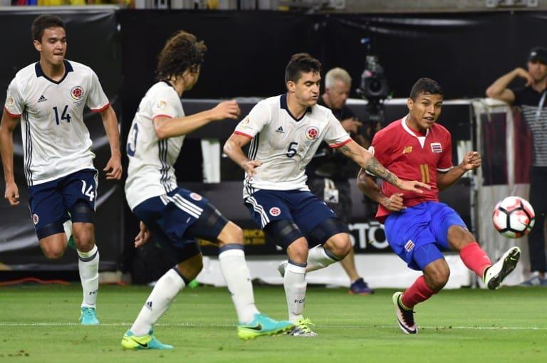 Johan Venegas Costa Rica Copa America