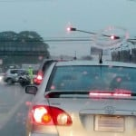 First showers of the rainy season cause spike in traffic jams, accidents