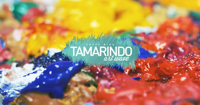 Poster for Tamarindo Art Wave.