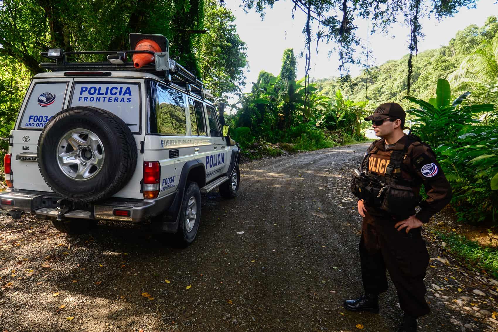 Costa Rica Border Police