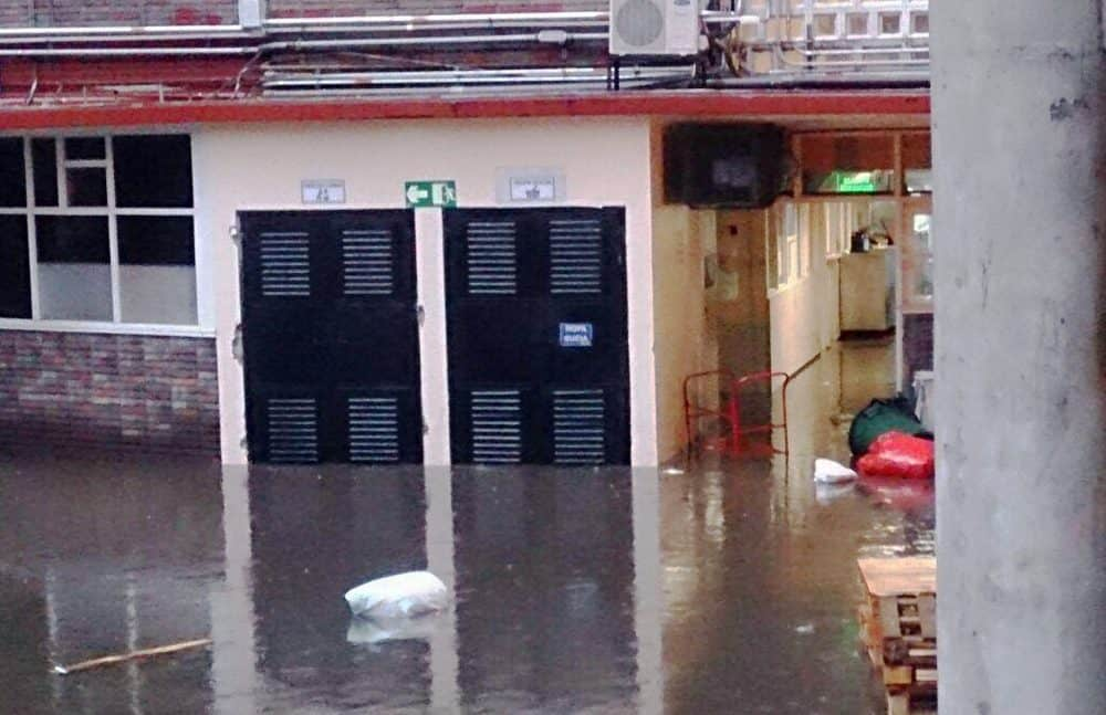 Flooding at National Children's Hospital