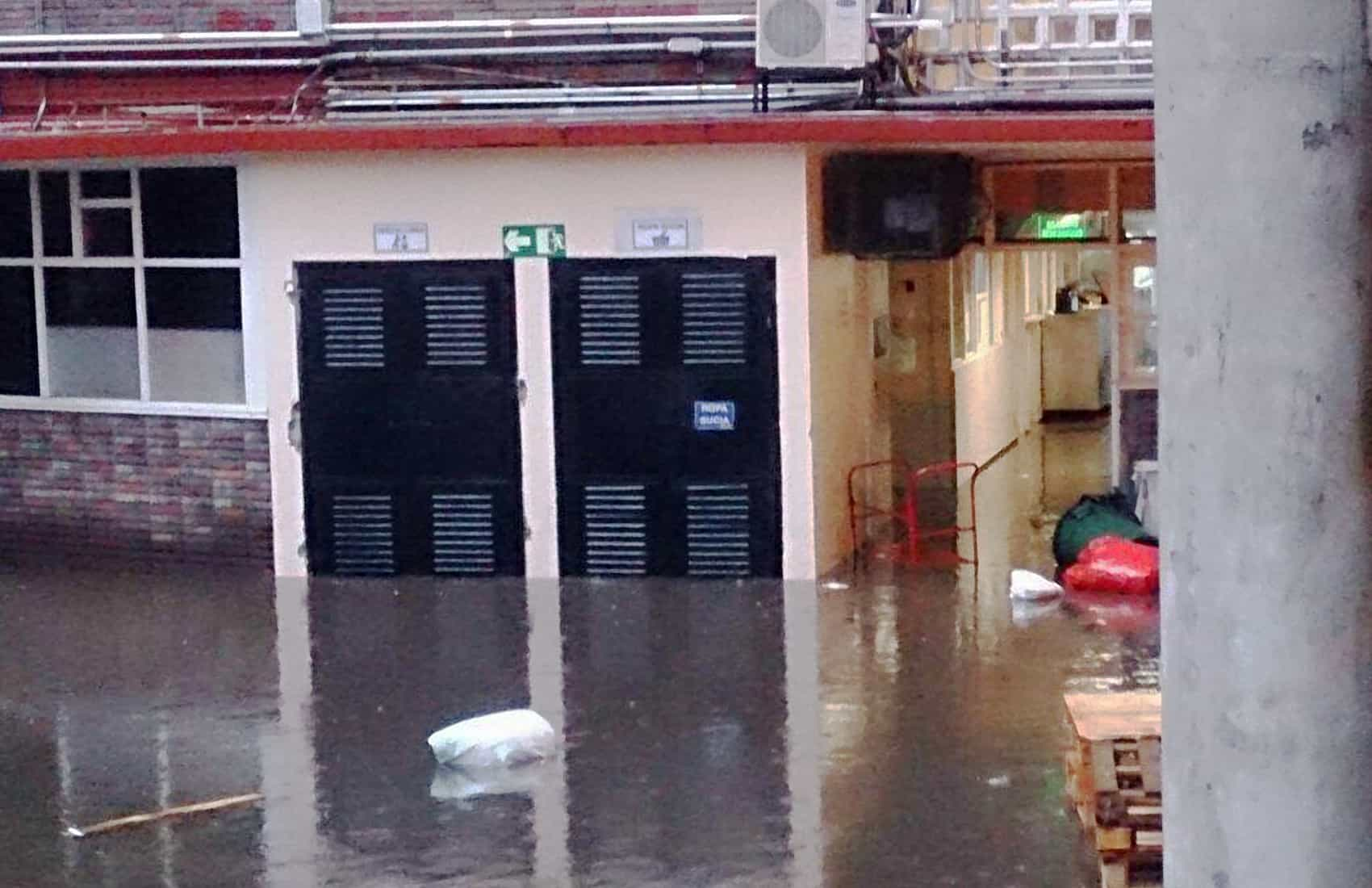 Flooding at National Children's Hospital