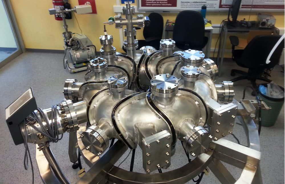 Costa Rica's Stellarator-1 (SCR-1), plasma device