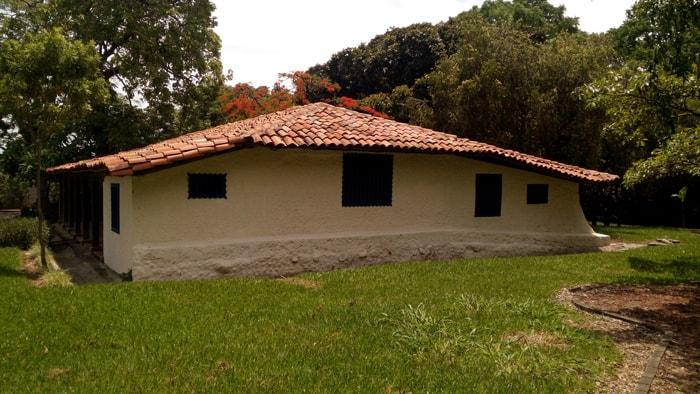 La Casona: House built in 1765, still standing at the Santa Ana Conservation Center.