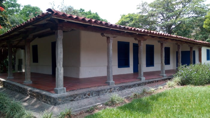 The Casona at Santa Ana Conservation Center, built in 1765.