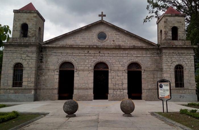 The Santa Ana Catholic Church, built in 1880.