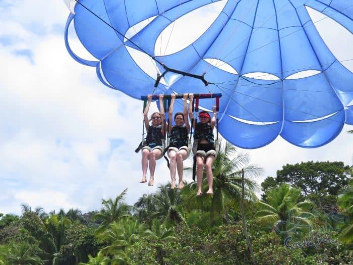parasailing costa rica