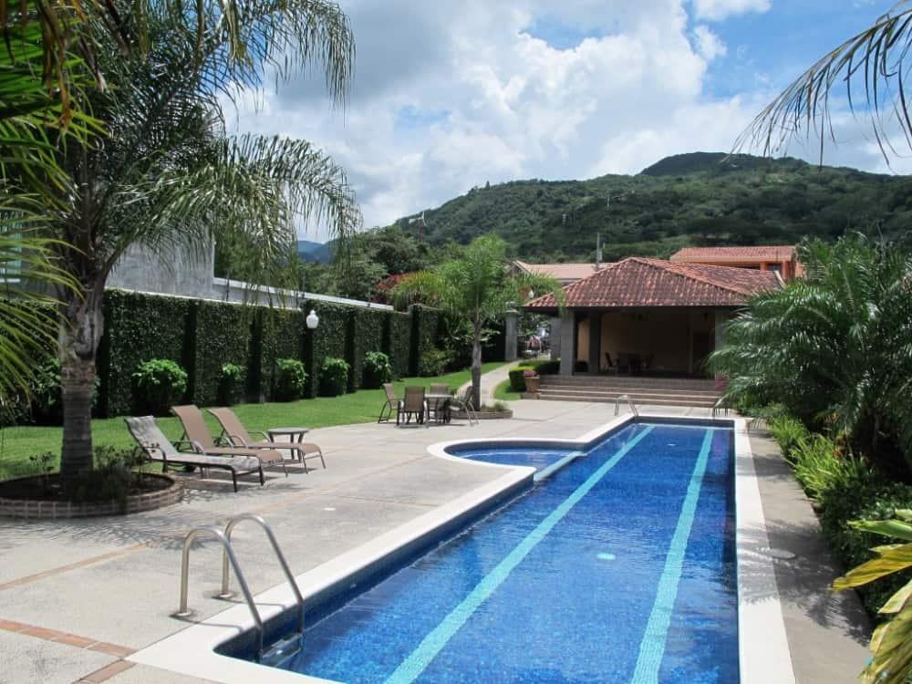 Swimming pool at Las Pampas.