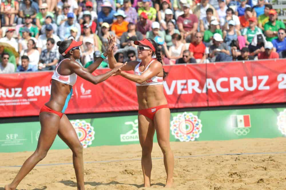 Costa Rica women's beach vollyeball