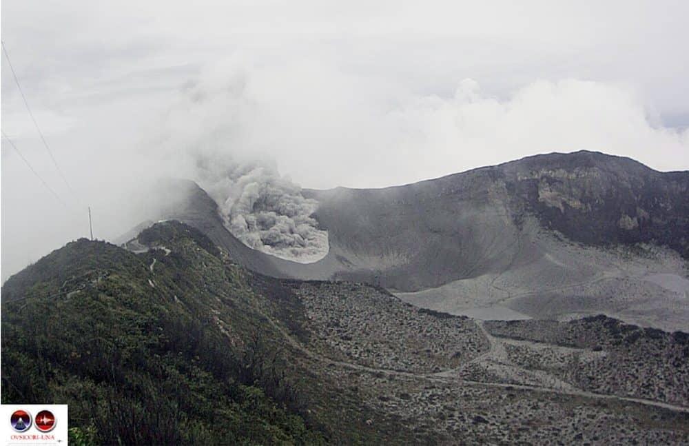 Turrialba Volcano. July 7, 2015
