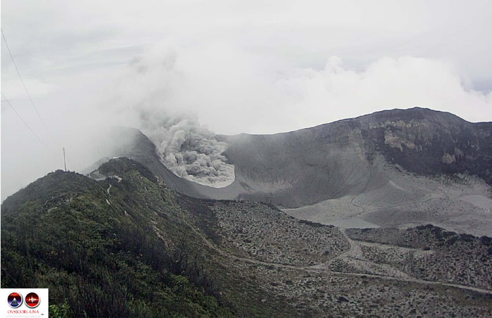 Turrialba Volcano. July 7, 2015