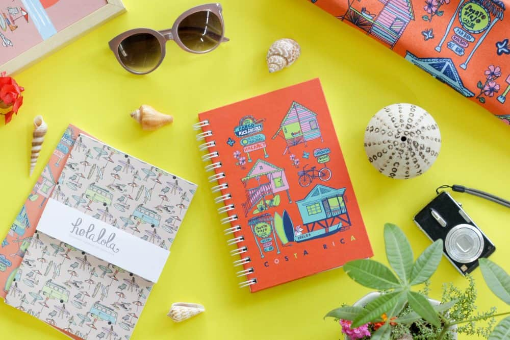 Holalola notebook and other products