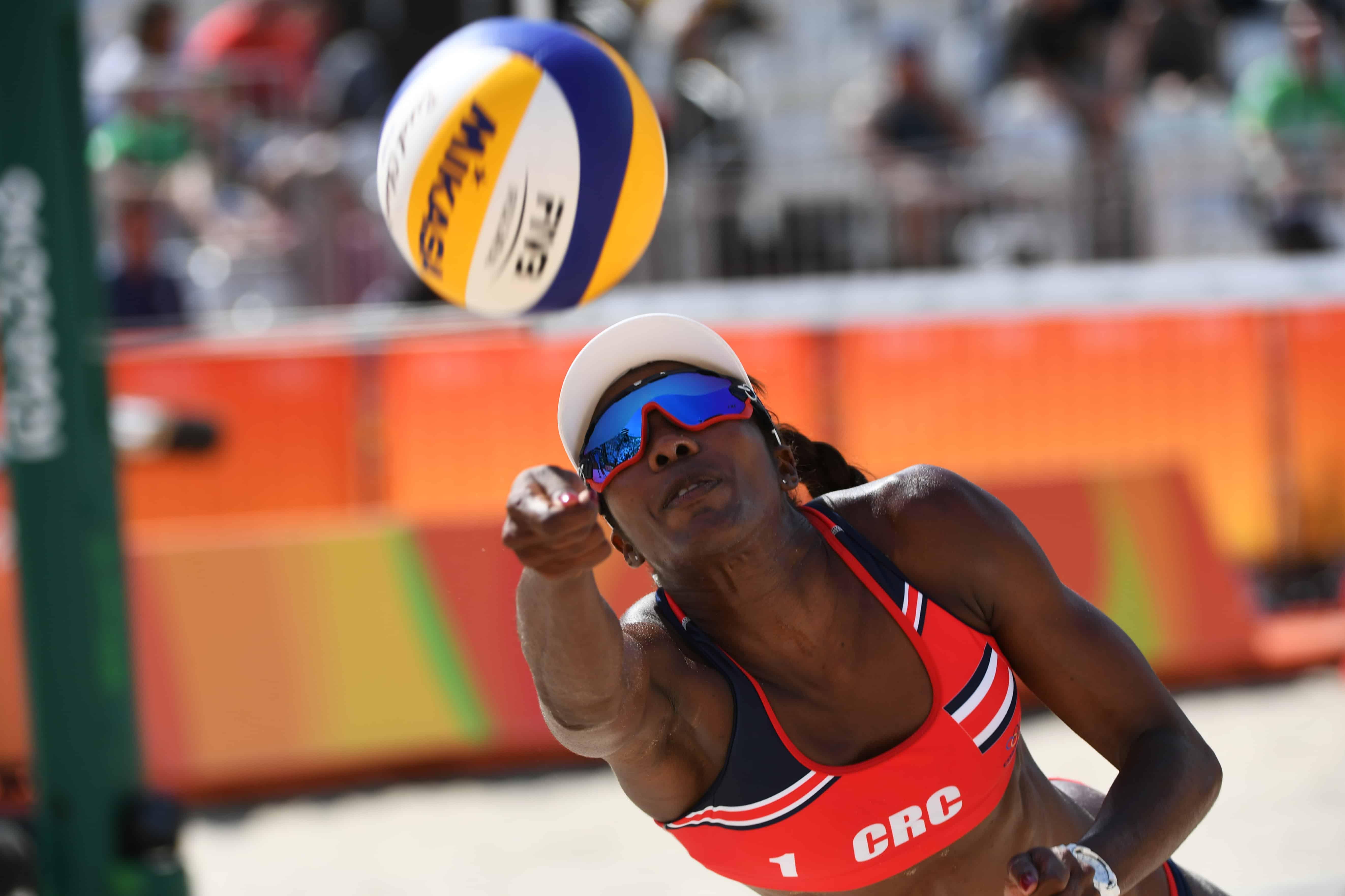Karen Cope Beach Volleyball