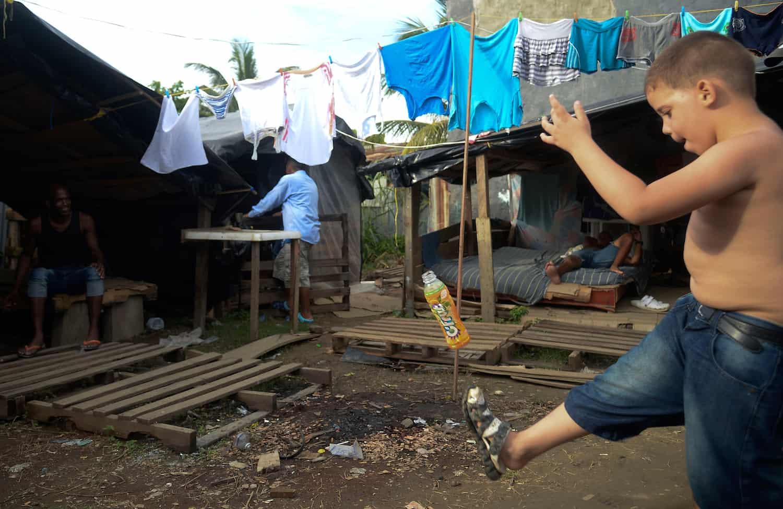 Cuban migrants
