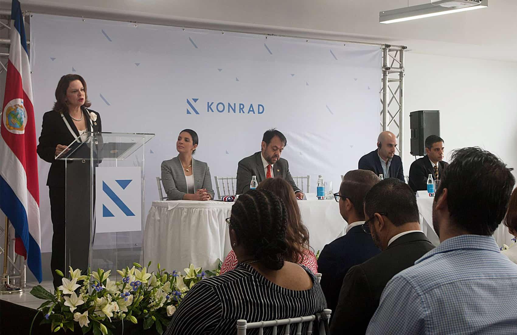 Konrad Group opening in Costa Rica. Aug. 22, 2016.