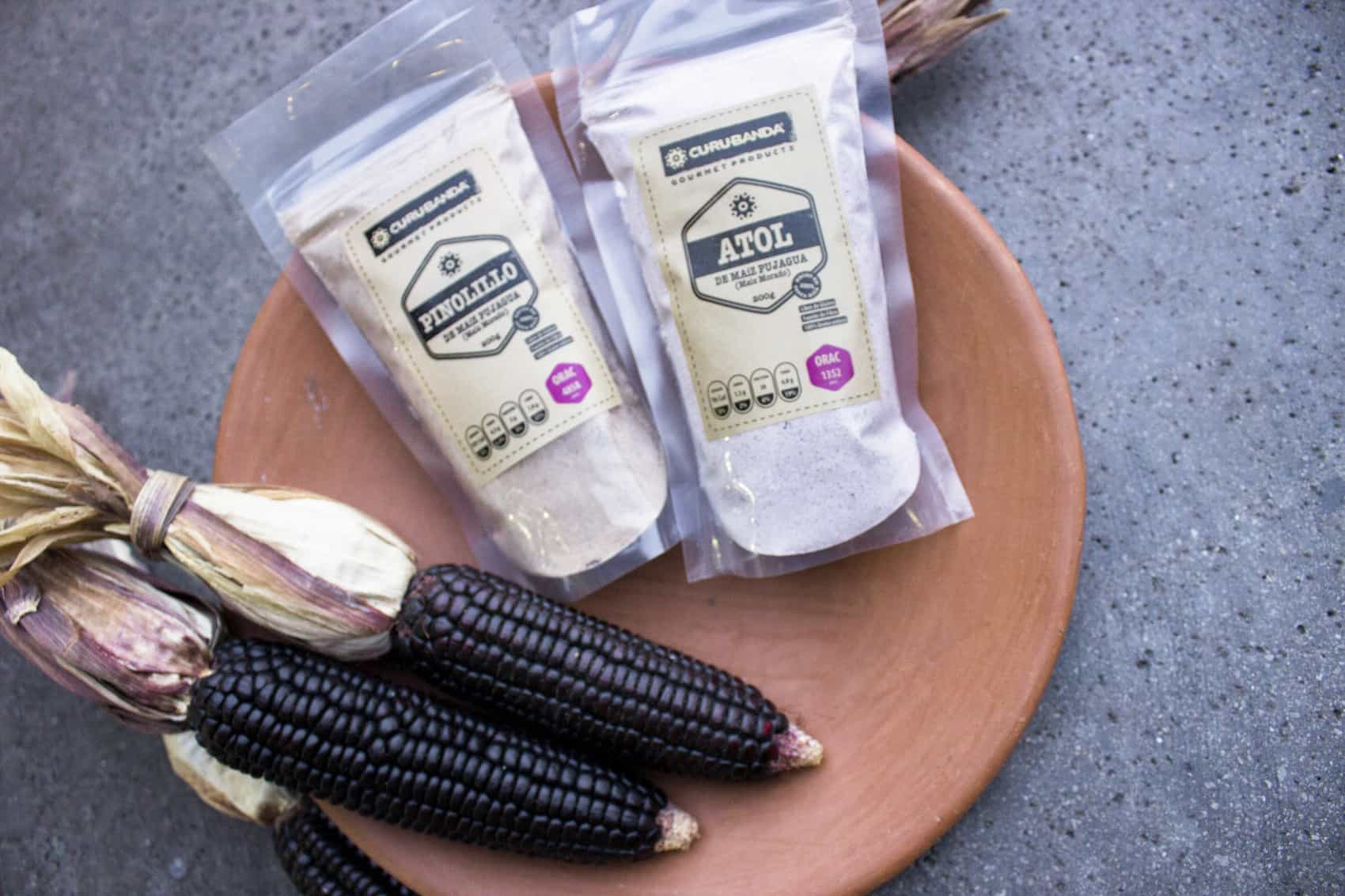 blue corn and products