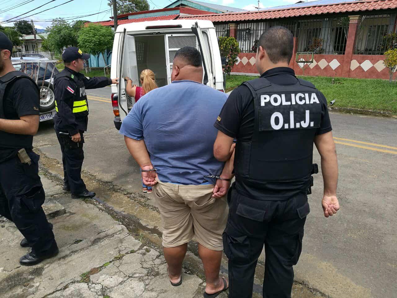 OIJ raids Pérez Zeledón