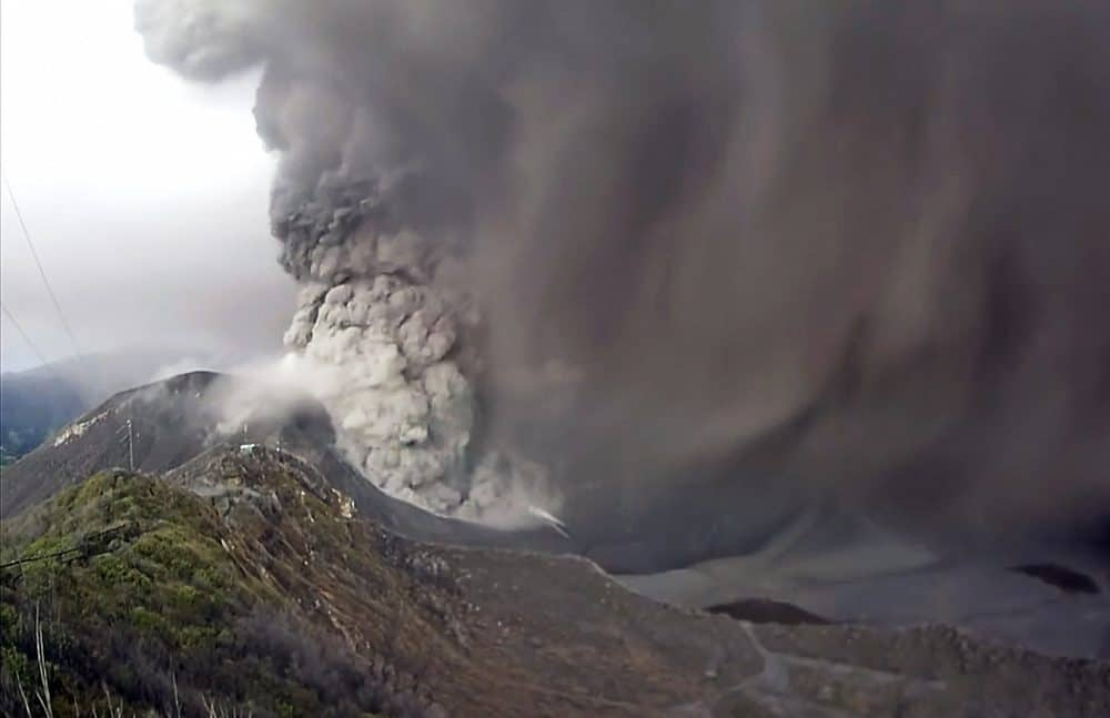 Turrialba Volcano, Sept. 22 2015