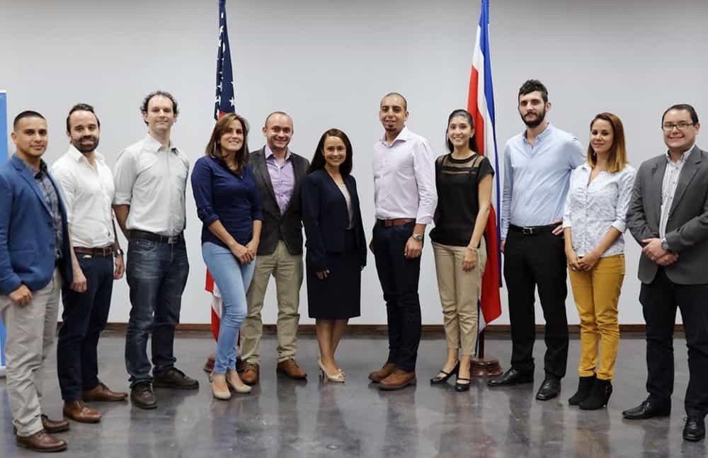 Costa Rica YLAI fellows 2016