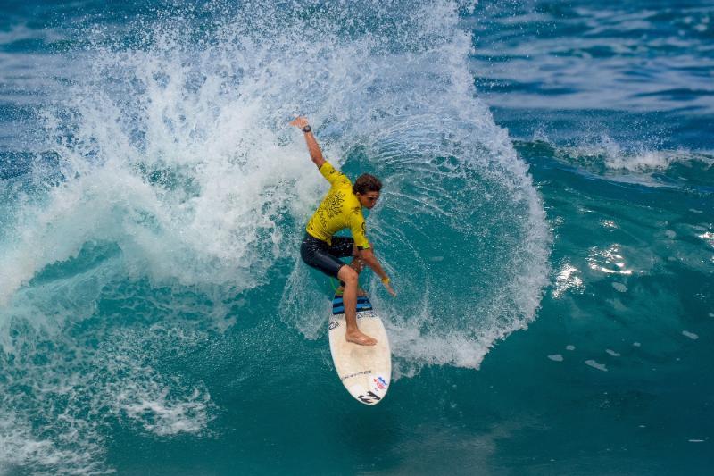 Costa Rica surfer Aldo Chirinos