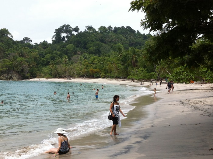 Beach at Manuel Antonio National Park.