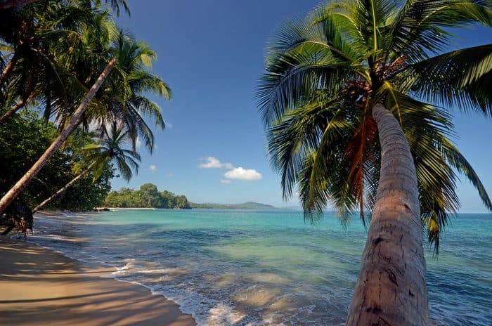 Playa Punta Uva, one of Costa Rica's most beautiful beaches.