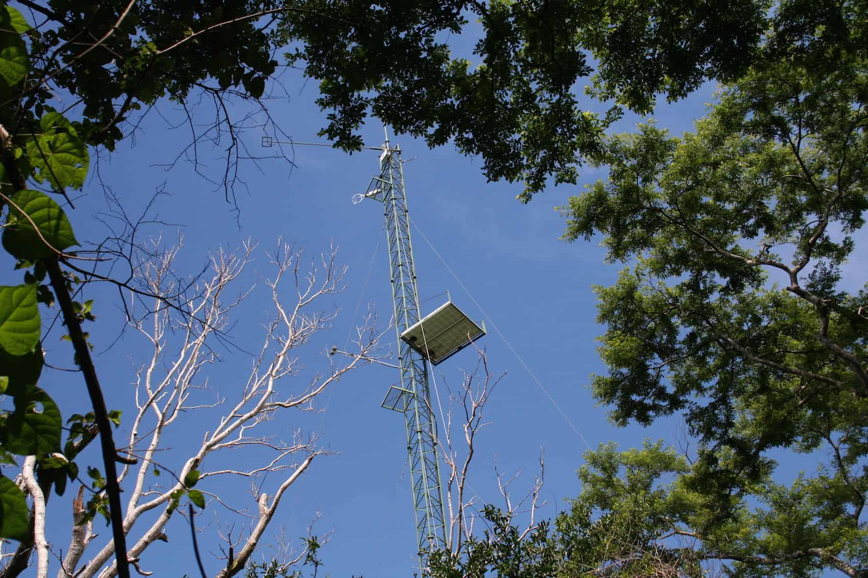 research tower in Santa Rosa