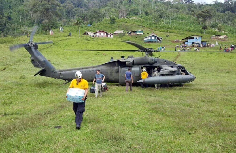 U.S. Southern Command humanitarian mission to indigenous people in Limón. Nov. 1, 2016.