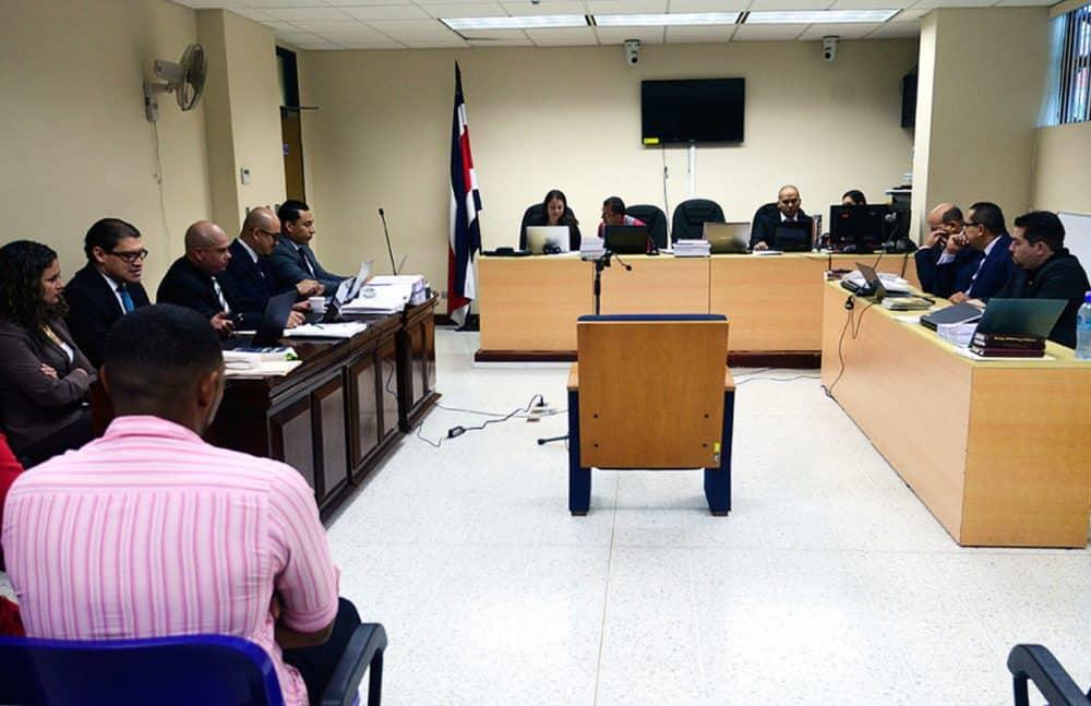 Jairo Mora trial. Limón. Jan. 25, 2016.
