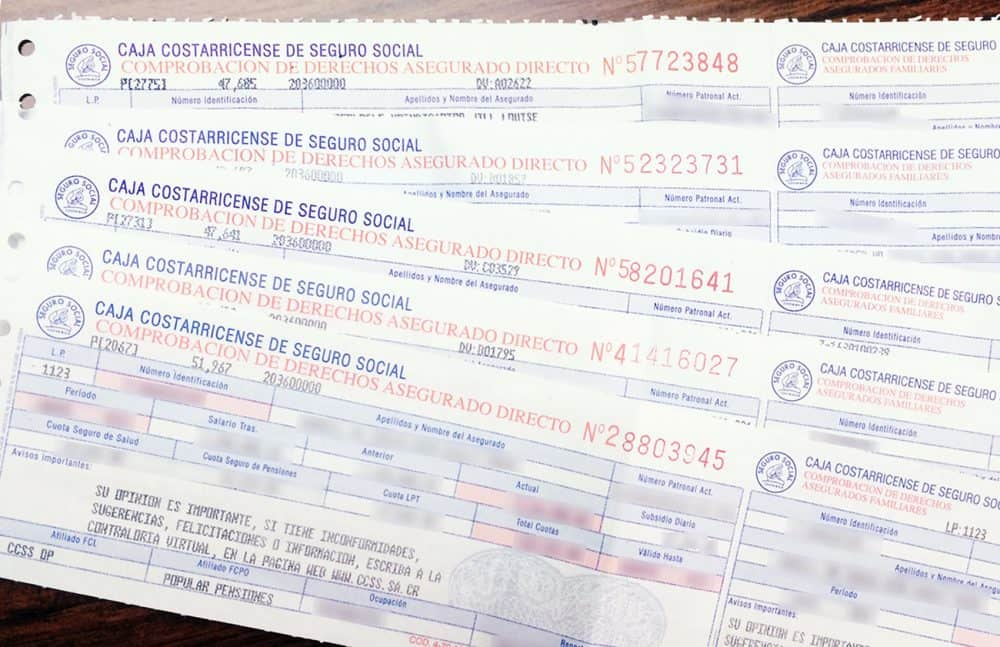 Social Security slip
