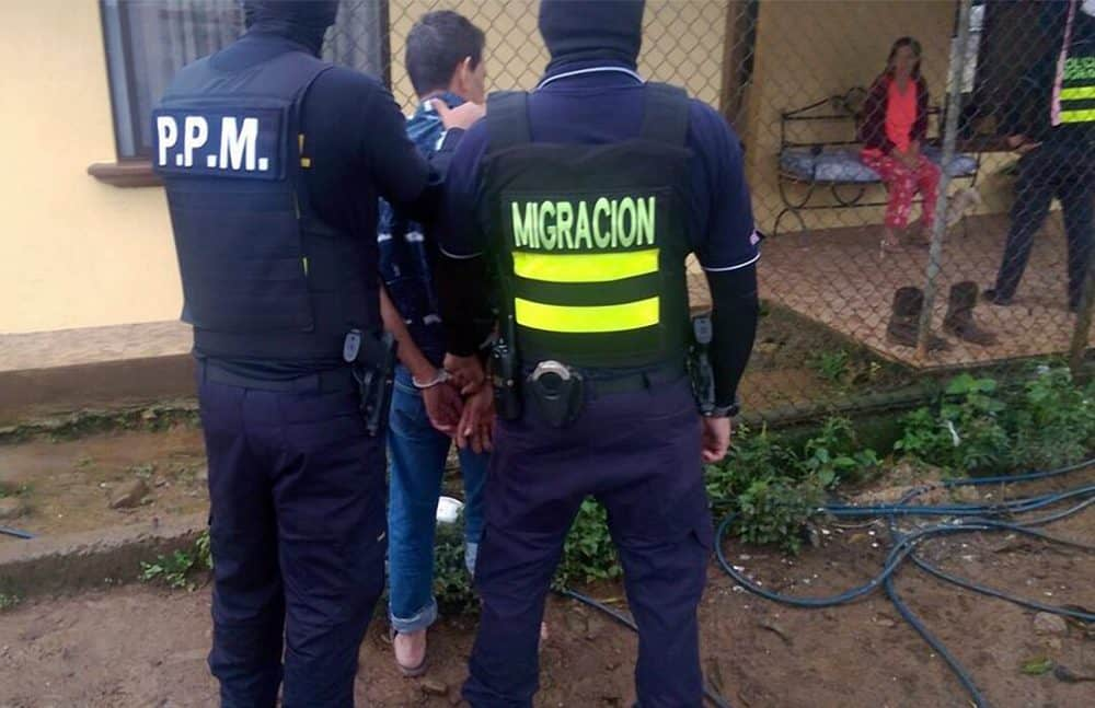 Human trafficking raid in Pérez Zeledón. Nov. 16 2016